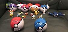 Pokemon Poke Balls & Figures Toys Bundle