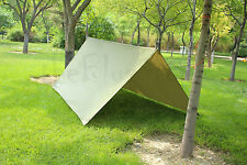 3m x 3m Waterproof Tarp for Shelter Survival Backpacking Camping Outdoor Tent