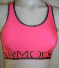 NWT WOMENS UNDER ARMOUR UA Pink Sports compression BRA XSMALL 1257677 NEW