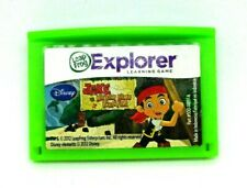 Jake and Neverland Pirates Leap Frog Leapster Explorer Cartridge Learning Game