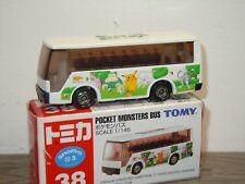 Isuzu Super Hi-Decker Pocket Monsters Bus - Tomica 38 - 1:145 in Box *35696