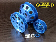 NEW Lightweight Pulley Set for Nissan S13 S14 S15 180sx Silvia 200sx SR20DET