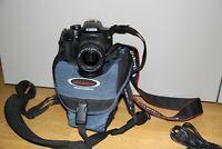 Fotocamera Canon EOS 1000d reflex digitale + obiettivo Canon 28-80 + borsa