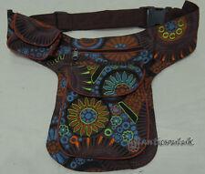 P63 Cotton Waist Belt shoulder sport Travel Messanger Hip Fanny Wallet Bag Purse