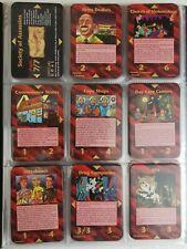 FULL ASSASSINS 125 CARDS HIGH QUALITY ILLUMINATI STRANGE BEDFELLOWS INWO PROMO