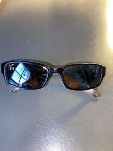 Maui Jim Atoll Black/Tan Sunglasses MJ220-02 56[]17-L.135 Pre-owned