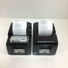 New Listinglot Of 2 Star Tsp650 Tsp650ii Thermal Receipt Printer