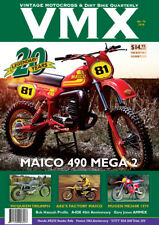 VMX Vintage MX & Dirt Bike AHRMA Magazine - 20th Anniversary NEW ISSUE #74