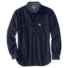 Carhartt 103318C - Beartooth Flannel Shirt - Navy Heather 981