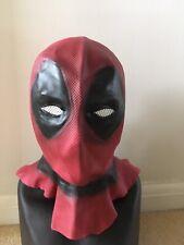 DEADPOOL stile parodia Cosplay-Halloween-Maschera completa testa in tessuto-Costume