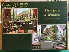 falcon jigsaw puzzles 1000 piece - Two In A Box. used