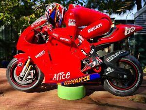 Ducati 999 Electric Motorcycle Nikko  R/C 1/5 Scale  (LORIS CAPIROSSI VERSION)