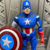 "Marvel Legends Hasbro Walmart Avengers 2012 Captain America 6"" Action Figure"