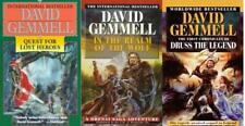 David Gemmell DRENAI SAGA Epic Sci Fi Series Paperback Collection Books 4-6