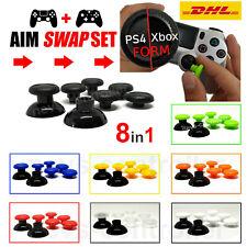 Swap Aim Sticks Aufsätze SET PS4 & Xbox One Controller | Farbliche Analogsticks