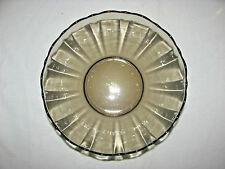 "Arcoroc Arcade Bengale Smoke? Brown? Glass 8"" Serving Bowl"