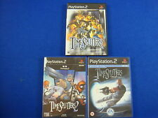 ps2 TIMESPLITTERS x3 Games 1 + 2 + Future Perfect Playstation PAL UK Versions