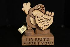 "Don Mars Wooden ""Good Luck Buddy 