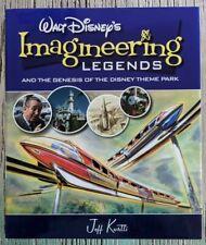 New Walt Disney's Imagineering Legends Jeff Kurti   2008 1st Edition Hardcover