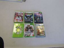XBOX (SET OF 6) TOP SPIN 4 LEGO BATMAN DANCE CENTRAL SAINTS ROW MADDEN 11 & 12