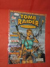 TOMB RAIDER MAGAZINE N°11-SPECIAL- FUMETTO CON LARA CROFT- ED.CULT COMICS TOP CO