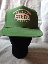 Vtg NOS Agway Energy Premium Green Diesel Trucker Hat Cap Mesh Snapback Nissin