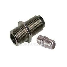 F Type Coax Coaxial Cable Coupler Female F/F Jack Adapter Connector RG59 RG6