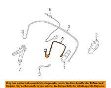 BMW OEM 03-08 Z4 Motor-Convertible/soft Top-Pressure Hose Left 54347119639