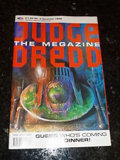 JUDGE DREDD THE MEGAZINE Comic - Series 1 - No 3 - Date 12/1990 - UK Comic