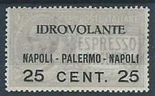1917 REGNO POSTA AEREA NAPOLI PALERMO MH * - RR13033