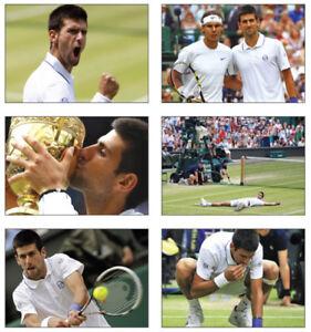 Novak Djokovic Wimbledon 2011 Tennis POSTCARD Set