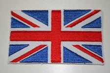 Union Jack UK Embroidered Heat Sealed Patch P007