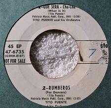 Tito Puente Que Sera Rumberos DJ EP Great Latin Jazz Dance Harry Belafonte Flip