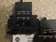 ALLEN BRADLEY 1492-GS1G200 MINIATURE CIRCUIT BREAKER (LOT OF 2 NEW)