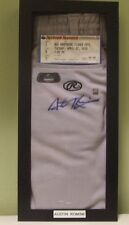 Austin Romine Signed Autographed GAME WORN Pants - W/COA Thunder NY Yankees