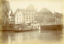 Suisse, Choisy, ca.1900, vintage citrate print Vintage citrate print, mounted