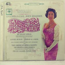 The Merry Widow Opera In English Lisa Della Casa John Reardon 1962 Stereo LP