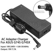19V 7.7A 150W AC Adapter Power Supply Charger For ASUS G74S G74SX Laptop