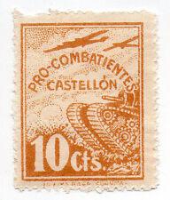 Sello Local Guerra Civil Castellon -Cat. Galvez B229.  ORD:152