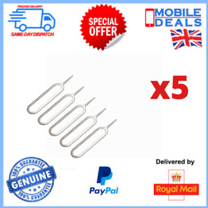 5 x Universal New Sim Card Eject Tool Opening Key For HTC iPhone iPad Samsung
