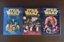 Star Wars Thrawn Trilogy by Timothy Zahn - Hardcover 1st Edition 1st Printing VG
