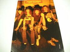 Nuclear Assault vintage Uk mag full pg. Frameable Poster Advt outstretched hands