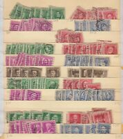 USA 6 STOCK PAGES CANCELS COLLECTION LOT $$$$$$$