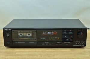 Sony TC-RX50 Auto-Reverse STEREO Cassette Deck 100V TESTED