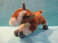 "AURORA World Flopsies - PICKLES The Goat - Plush Cuddly Soft Beanie Toy Teddy 8"""