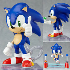 "4"" Anime Sonic The Hedgehog Nendoroid PVC Toy Action Figure Figurine Toy"