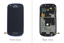 GENUINE LCD Display Screen Digitizer Assembly Blue Samsung Galaxy SIII mini