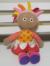 IN THE NIGHT GARDEN UPSY DAISY CHARACTER PLUSH TOY! SOFT TOY ABOUT 22CM SEATED!
