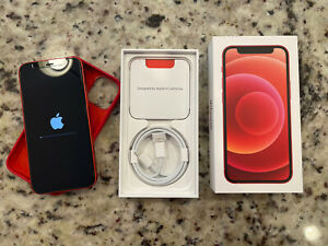 Apple iPhone 12 mini (PRODUCT)RED - 256GB (Verizon) Mint Used 5 Times