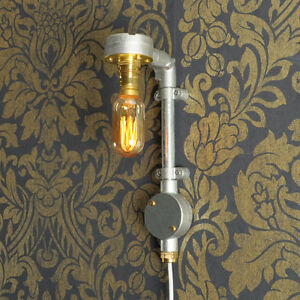 JONES 3.0 Plug in Wall Light Lamp Industrial Style Vintage CE MARKED